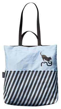 CATWALK TOTE BAG BLUE