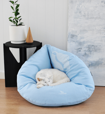 EMI blue Cat Bed