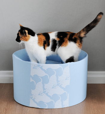 OTI blue Cat Bed